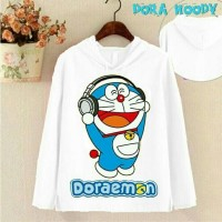 Jual Jaket / Sweater Baru Keren Sweater Hoodie Music Doraemon Murah