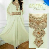 Baju Muslim Wanita Maxi Kaftan Elegance Payet VANESA