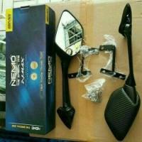 Jual Kaca Spion Carbon R25 R3 + Bracket Panjang Nemo 1001 PNP Yamaha Nmax Murah