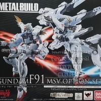 Metal Build F91 Gundam MSV Option SET PARTS (JPN) Limited P Bandai