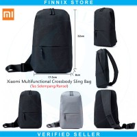 Xiaomi Multifunctional Crossbody Sling Bag - Tas Selempang- Ransel