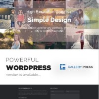 GalleryPress Template Wordpress By Theme Country