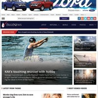 FrezNews Template Wordpress By Theme Country