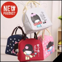 Iconic Insulated Lunch Picnic Bag Cooler JAPANESE GIRL -RB01