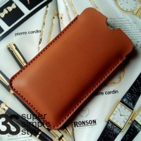 Leather Case Pouch Sleeve Xiaomi Mi 6 (sarung HP 5,2 inch)
