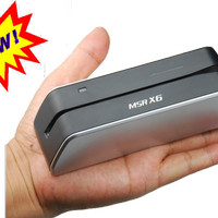 MSR X6 Smallest USB-Powered Magnetic Cards Reader Writer Encoder