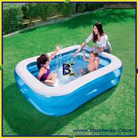 Kolam Anak Blue Rectangular Family Pool Bestway 54005