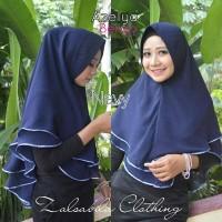Jual kerudung hijab jilbab instan syari khimar pet dua layer Murah