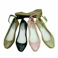 Jual Jelly Shoes Premium Slip On Elegant - Sepatu kantor karet Flatshoes Murah
