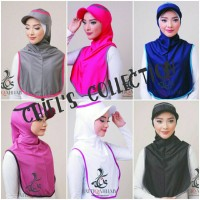 Hijab Instan Sport Long Runner