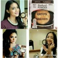 Bedak Erto`s Panggang/ Baked Powder All in 1 BPOM/ Erto's Powder Ertos