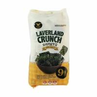 Jual Laverland crunch seaweed korea / snack seaweed by manjun rasa sea salt Murah