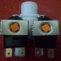 Selenoid dual valve water air masuk mesin cuci Toshiba Lux Electrolux