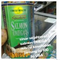 Jual salmon omega -3 nutrisi kesehatan jantung 100 softgel Murah