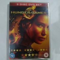 Jual DVD Original The Hunger Games 3 Disc Region 2 Murah