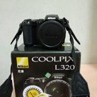 Jual Kamera Semi DSLR Nikon Coolpix L320 - Free Tas Murah