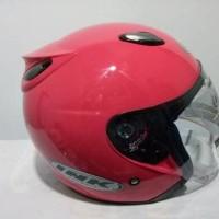 Helm INK centro Jet solid- INK telur warna Magenta / Merah muda
