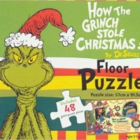 Dr Seuss How the Grinch Stole Christmas Floor Puzzle