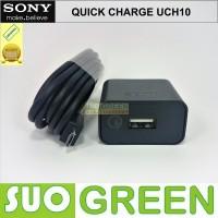 [ORIGINAL] Fast Charger Sony Xperia Original Z2 Z3 Z4 Z5 MODEL UCH10