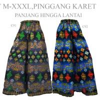 Jual Bawahan Celana Kulot batik Panjang Batik Songket C91C92 gamis Murah