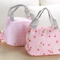 Jual WEEKGHT Lunch Bag [163]/Cooler Bag/Tas Bekal Bonus 2 pcs Jelly Ice Murah