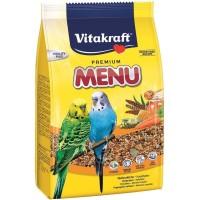 Vitakraft Menu for Budgies [Parakeet] 1kg. Makanan untuk burung parkit