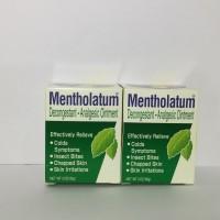 Mentholatum Decongestant Analgesic Ointment 3 oz Stok Dari Hong Kong