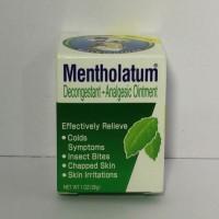 Mentholatum Decongestant Analgesic Ointment 1oz #Dari HongKong