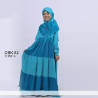 Baju Gamis Anak Ethica OSK 82 Tosca