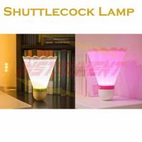 Lampu Tidur Shuttlecock Badminton Kado Unik Bulutangkis LED Night Lamp