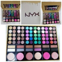 SALE NYX Make Up Palette ( eye shadow lipstick blush on foundation pal