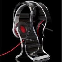 Jual Stand Holder Display Headphone Headset Acrylic Universal Murah Murah
