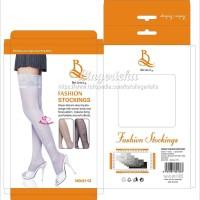 Kaos Kaki Stoking Wanita Fashion Corak Tato Bunga Kode ST2112