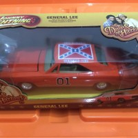 Johnny Lightning The Dukes Of Hazzard Dodge Charger General Lee 1:25
