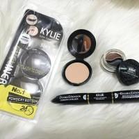 Kylie Make Up Kosmetik 4In1 Kylie Maskara Eyeliner Gel Bedak