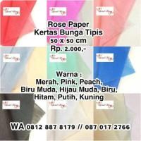Kertas Tissue / Kertas Bunga / Wrapping Paper / Flower Wrap / Buket