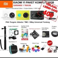 Xiaomi Yi Action Camera Paket Komplit