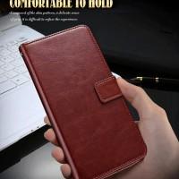 FLIP COVER KULIT Zenfone 4 Max ZC554KL case casing leather dompet hp