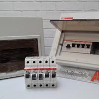 promo ABB MCB Box 10 Module SCP 10 Inbow FIRE REPELLANT ORIGINAL