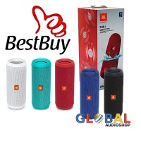 Jual JBL Flip 4 / Flip4 Waterproof Portable Bluetooth Speaker - Hitam Murah