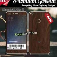 Premium Garskin xiaomi mi max 2 custom & macam tipe hp lainnya
