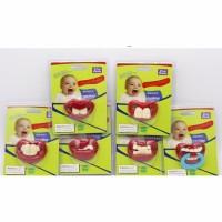 Jual empeng gigi empeng lucu unik dot bayi bentuk gigi SA213 Murah