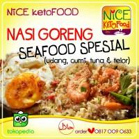 # NASI GORENG SEAFOOD SPECIAL --- diet sehat KF Ketofastosis Ketogenik
