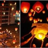 Jual Diskon Sky Lantern Api, Lampion Harapan, Wish Lampion  Murah