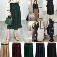 Jual Produkimpor Celine Pleated Skirt(#692)/Rok Midi/Rok Kerja Hotsale Murah