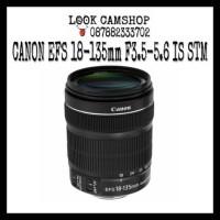 LENSA KAMERA DSLR CANON EF-S 18-135mm 18-135 F3.5-5.6 IS STM