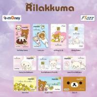 Jual Custom Kartu e Money Mandiri / Flazz BCA Rilakkuma Katalog