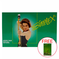 Simplex Super Thin Green 12pcs Kondom Ukuran Tipis