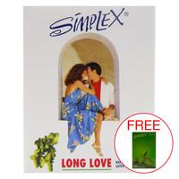 Simplex Long Love White 12pcs Kondom Ketahanan Pria