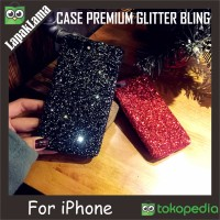 Case Premium Glitter Bling For Iphone 5 6 6plus 7 7plus Hardcase Back